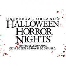 Halloween Horror Nights Combo - 14 dias + Islands of Adventure + Volcano Bay + City Walk (Ingresso Voucher)
